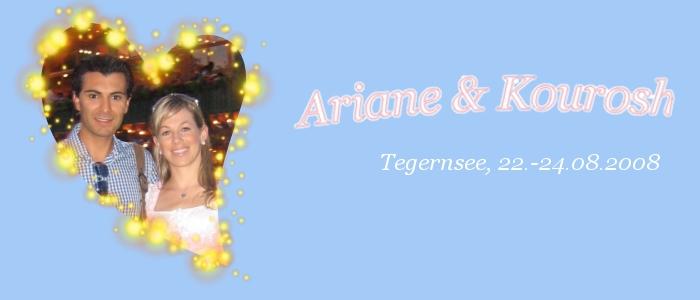 Trauung von Ariane und Kourosh